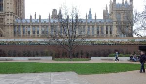 Stonework restoration of the Palace of Westminster for Balfour Beatty by Malling Masonry Stonework & Restoration Specialists