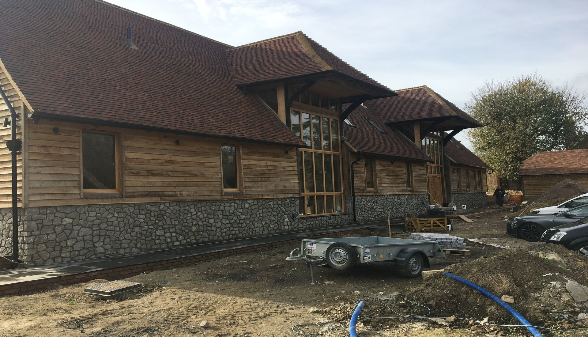 Featured Barn Conversion by Malling Masonry - Barn Conversion Specialists in Kent