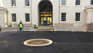 Historical Building Restoration of The Old Naval College for Willmott Dixon by Malling Masonry Stonework & Restoration Specialists based in Kent